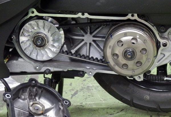 機車傳動系統三樣基本耗損零件「傳動皮帶」「普利珠」「滑鍵」